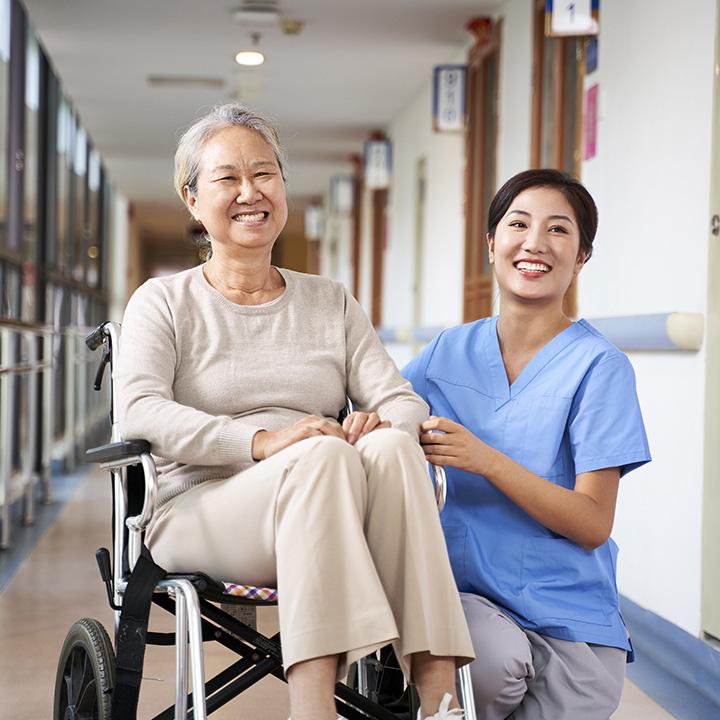 医療行為が少ない介護施設